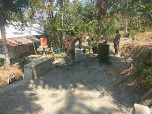 Pembangunan Talud yang ada di Dusun Kramat RT 10 - 15